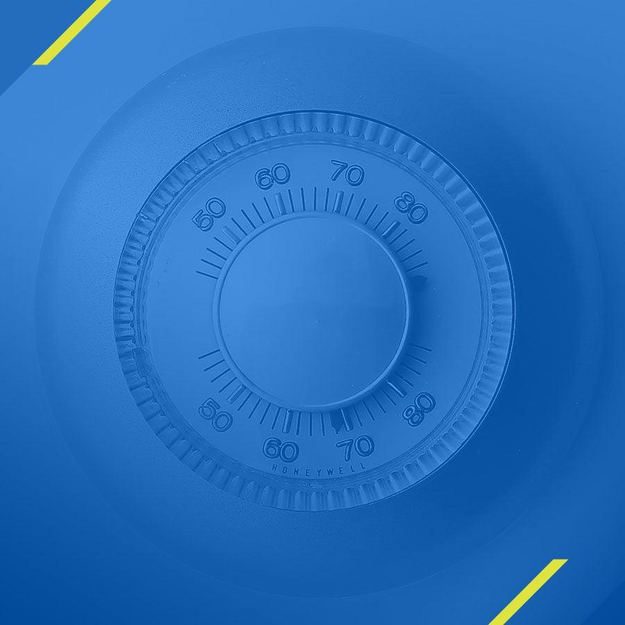 Illustrative image of a safe